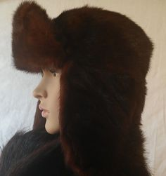 "real fur   Mink  Russian""Ushanka"" #twitter#tumbrl#instagram#avito#ebay#yandex#facebook #whatsapp#google#fashion#icq#skype#dailymail#avito.ru#nytimes #i_love_ny #cnn # BBCBreaking #  BBCWorld #  cnnbrk # nytimes # globaltimesnews #     Hat Men's Size 7 22,5 "" #Unbranded #RussianUshankaCossack"