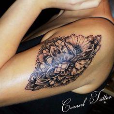 Poppy!:)) #poppytattoo #mandalatattoo #tattoo #tattoodgirl