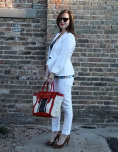 Brown Eyed Style: Outfit: White Out