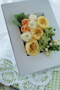 『生花 or プリザ どっちを贈る?』 http://ameblo.jp/flower-note/entry-11035649171.html