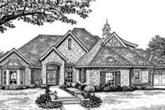 House Plan 310-273 http://www.houseplans.com/plan/2713-square-feet-4-bedrooms-3-bathroom-european-house-plans-3-garage-23868
