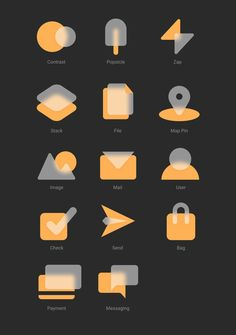 Flat Design Icons, App Icon Design, App Design Inspiration, Web Design, Flower Graphic Design, Typography Poster Design, Industrial Design Sketch, Custom Icons, Interface Design