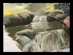 Pintura de pedras e cachoeiras-redirecionar para o meu site - YouTube