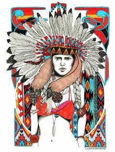 Labaribaruska Ethnic / Étnico # Illustration # Ilustración