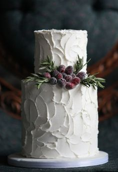 winter festive cake