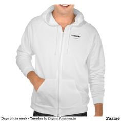 Days of the week - Tuesday Hoody