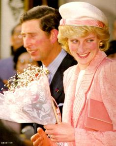 Princess Diana in Japan, May 12, 1986 in Philip Somerville
