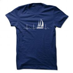 Sailing Heartbeat - #sleeveless hoodie #mens sweatshirts. ORDER NOW => https://www.sunfrog.com/Hobby/Sailing-Heartbeat-80750479-Guys.html?id=60505