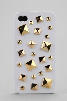 Mixed Stud iPhone 4/4s Case  #UrbanOutfitters