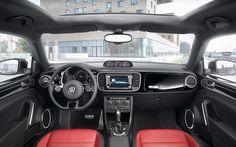 Highlights < The Beetle < Models < Volkswagen Korea Volkswagen New Beetle, Vw Beetle Convertible, Car Interior Decor, Vw Camper, Transportation Design, Vw Beetles, Chevrolet Camaro, New Image, Cars