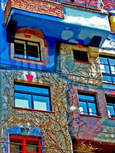 Friedensreich Hundertwasser, Viena