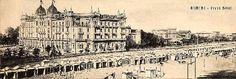 www.italialiberty.it - Il Liberty a Rimini con il Grand hotel. (Arch. Fratelli Somazzi).   Ancora oggi le camere conservano gli arredi francesi e veneziani del XVIII secolo, il parquet e i lampadari veneziani dell'arredamento originale mentre nelle sale ristorante gli arredi, i dipinti e le luci rievocano la suggestiva atmosfera del passato. Nel 1994 il Grand Hotel Rimini è stato dichiarato monumento nazionale vincolato dalla Sovrintendenza alle Belle Arti.