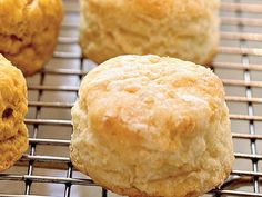 These tender, old-fashioned biscuits are low in fat and flavored with buttermilk, butter, and a bit of honey.