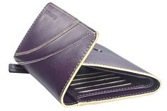 Flap over girls wallet in genuine cow leather . Contrast edge color and stitch detail. Wallets from Fastrack http://www.fastrack.in/product/c0322lpr01/?filter=yes=india=8=4&_=1334231923409