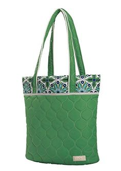 cinda b Essentials Tote  Verde Bonita One Size *** Details can be found by clicking on the image.