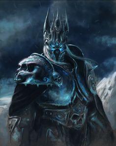 Arthas...the Lich King  #indigo #magicalholiday