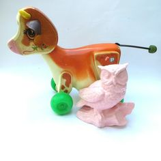 Fisher price molly moo cow 1972