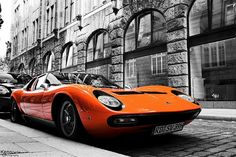 Lamborghini Muira - possibly the prettiest car ever built. Shame about the small engine bay..