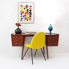 Bureau Uddebo Svante Skogh - Perlapatrame - meubles - objets - vintage