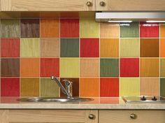 SIMULADOR DE REVESTIMENTO PARA COZINHA, PISO E AZULEJO | Decoração Arquitetura Handmade tiles can be colour coordinated and customized re. shape, texture, pattern, etc. by ceramic design studios