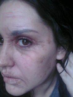 Hillary Hunt Makeup Artist Old Age makeup #fxmakeup #oldage #makeup