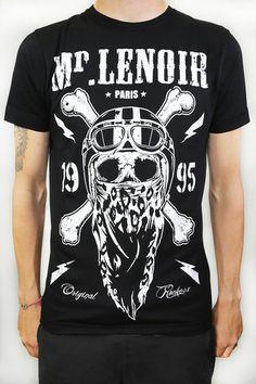 Mr Lenoir Skull Cross Bones Tee Black - Mr Lenoir - Crée par Djibril Cissé