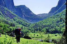 Backpacking the Long Range Traverse in Gros Morne NP: Day 1 - Hike Bike Travel Newfoundland Canada, Newfoundland And Labrador, Backpacking Trails, Hiking, Gros Morne, East Coast Travel, Atlantic Canada, Parks Canada, Outdoor Education