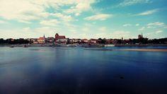 Panorama Toruń, Poland. 🍩