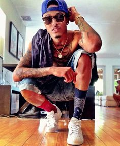 August Alsina. he's so yes<3.<3