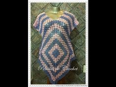 Crochet Patterns  for free  vintage crochet vest pattern  1263 - YouTube