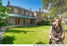 JK Rowling listed her farmhouse in Edinburgh, Scotland. See more photos: http://realestate.aol.com/blog/2012/09/25/j-k-rowling-lists-farmhouse-in-edinburgh-scotland/#