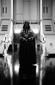 Retro Star Wars Strikes Back • Various photos of Darth Vader ...