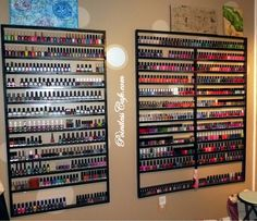 Nail Polish Storage and Collection 2.0 | Pointless Cafe
