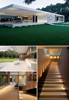 Glass Pavilion House by Steve Hermann