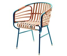 steel and rattan