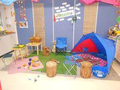 Campsite role play idea