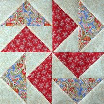 Flying Geese Quilt Pattern... the No Waste Method