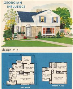 Mid Century Modern Home Plans mid century modern house plans |  design no. 4126 - 1951 home