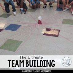 Team Bonding Activities, Teamwork Games, Leadership Games, Fun Team Building Activities, Building Games For Kids, Team Building Exercises, Activities For Teens, Games For Teens, Building Ideas