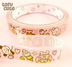Buy Mind Wave Kawaii Deco Tape - Candy Happy Animals at Tofu Cute  http://www.tofucute.com/kawaii-deco-tape-candy-happy-animals~p594.html