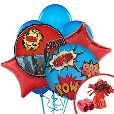 Superhero Comic Balloon Bouquet Set BirthdayExpress http://www.amazon.com/dp/B00IXWSW4S/ref=cm_sw_r_pi_dp_AjUOtb1B3F77Z1XM