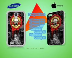 Guns N Roses Case for iPhone 4/4S iPhone 5/5S/5C by KuntiDesign, $16.00