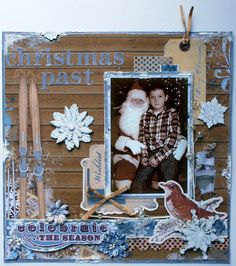 """Christmas Past"" - Bo Bunny - Powder Mountain Collection -  http://www.scrapbook.com/gallery/image/layout/5254989.html#KzxCxa0prblGtBdH.99"