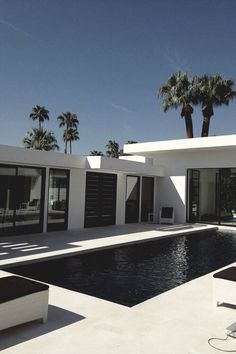 BOOM! white - modern.   Black pool super bad with hard water - good with salt water