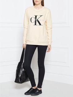 CALVIN KLEIN Re-Issue Logo Sweatshirt