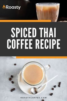 Taste all the wonderful flavors that this recipe has to offer! Yes, you can put this over ice but who doesn't love a nice hot cup of coffee in the morning? Give this coffee recipe a try and then have it again... and again... and again!! Thai Iced Coffee, Vietnamese Iced Coffee, Easy Coffee, Coffee Ideas, Great Coffee, Coffee Drink Recipes, Coffee Drinks, Spanish Coffee