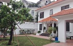 Thao Dien villa for rent 4 bedroom pool beautiful new building house Penthouse Apartment, Serviced Apartments, Ho Chi, Villa, Mansions, Bedroom, House Styles, Building, Outdoor Decor