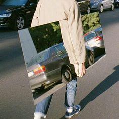 Mirror car art