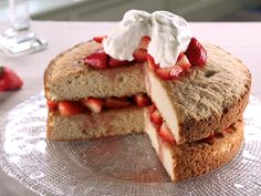 Old- Fashioned Strawberry Shortcake Recipe : Trisha Yearwood : Food Network - FoodNetwork.com