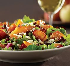 Caramelized Peach Salad cropped_SCEBOLLA